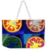 4 Abstract Tomatoes Weekender Tote Bag