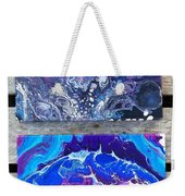 Acrylic Pouring Weekender Tote Bag