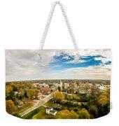Aerial View Over White Rose City York Soth Carolina Weekender Tote Bag