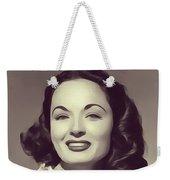 Ann Blyth, Vintage Actress Weekender Tote Bag