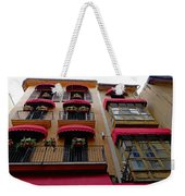 Artistic Architecture In Palma Majorca, Spain Weekender Tote Bag