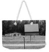 Auburn, Ny - Drive-in Theater Bw Weekender Tote Bag