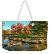 Autumn In Forest Park St Louis Missouri Weekender Tote Bag