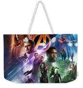 Avengers Infinity War Weekender Tote Bag