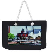 4 Baltimore Icons In One Shot Weekender Tote Bag