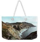 Bixby Creek Bridge Big Sur Photo By Pat Hathaway Weekender Tote Bag