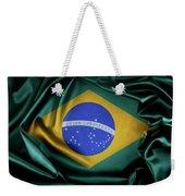 Brazil Flag Weekender Tote Bag