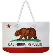 California Flag Weekender Tote Bag