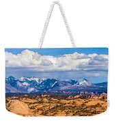 Canyon Badlands And Colorado Rockies Lanadscape Weekender Tote Bag