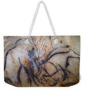 Cave Art: Mammoth Weekender Tote Bag