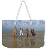 4 Cellos... - 4 Violoncelles... Weekender Tote Bag