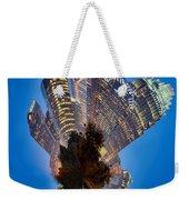 Charlotte Skyline Mini Planet Weekender Tote Bag