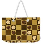 Checkerboard Generated Seamless Texture Weekender Tote Bag
