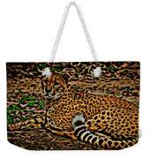 Cheeta Weekender Tote Bag