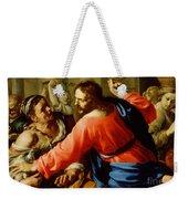 Christ Cleansing The Temple Weekender Tote Bag