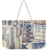 Collage Of Chicago  Weekender Tote Bag