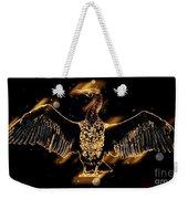 Cormorant Dries Its Wings Weekender Tote Bag