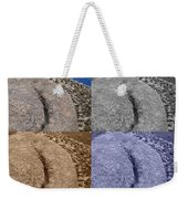 4 Crack Rocks New Mexico Weekender Tote Bag