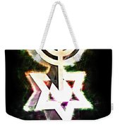 David's Menorah Jerusalem Weekender Tote Bag