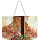 Door With Pots Weekender Tote Bag