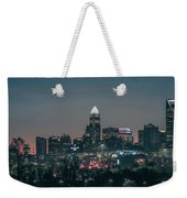 Early Morning In Charlotte Ncorth Carolina January 2018 Weekender Tote Bag