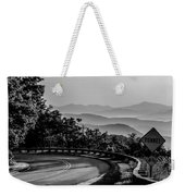 Early Morning Sunrise Over Blue Ridge Mountains Weekender Tote Bag