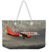 Easyjet Tartan Livery Airbus A319-111 Weekender Tote Bag