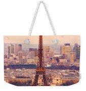 Eiffel Tower At Sunrise - Paris Weekender Tote Bag
