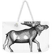 Elk/moose Weekender Tote Bag