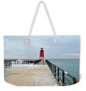 End Of The Pier Weekender Tote Bag