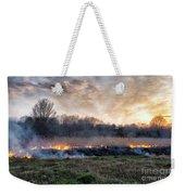 Fires Sunset Landscape Weekender Tote Bag