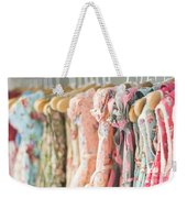 Floral Pattern Young Girl Dresses In Shop Weekender Tote Bag