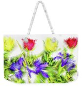 Flower Frame Border Weekender Tote Bag