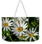 Flower Portrait Weekender Tote Bag