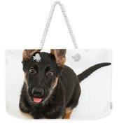 German Shepherd Puppy Weekender Tote Bag