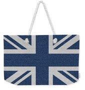 Great Britain Denim Flag Weekender Tote Bag