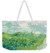Green Wheat Fields, Auvers Weekender Tote Bag
