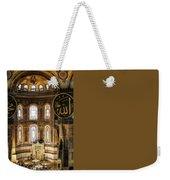 Hagia Sophia Interior Weekender Tote Bag
