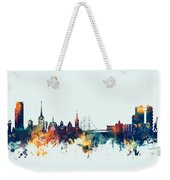 Halmstad Sweden Skyline Weekender Tote Bag