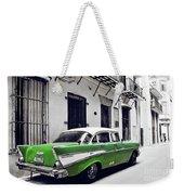 Havana, Cuba - Classic Car Weekender Tote Bag