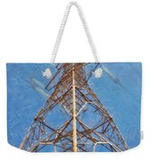 High Voltage Pylon Weekender Tote Bag