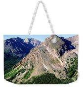 Hiking The Mount Massive Summit Weekender Tote Bag