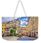Historic Street Of Innsbruck View Weekender Tote Bag