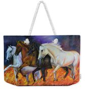 4 Horses Of The Apocalypse Weekender Tote Bag