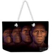 Human Evolution Weekender Tote Bag