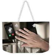 Incoming Call Cellphone Next To Bed Weekender Tote Bag