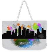 Kansas City Skyline Silhouette Weekender Tote Bag