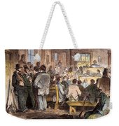 Kansas-nebraska Act, 1855 Weekender Tote Bag