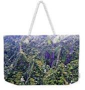 Kauai Water Fall Weekender Tote Bag