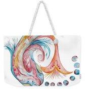 Koi Fish-watercolor Weekender Tote Bag